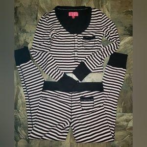 Victoria Secret Thermal Pajama Night Set S